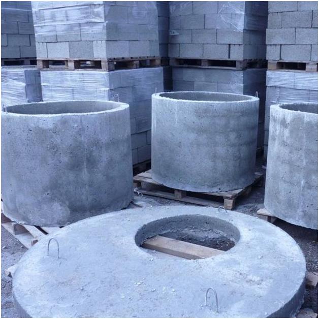 какие бывают бетонные кольца