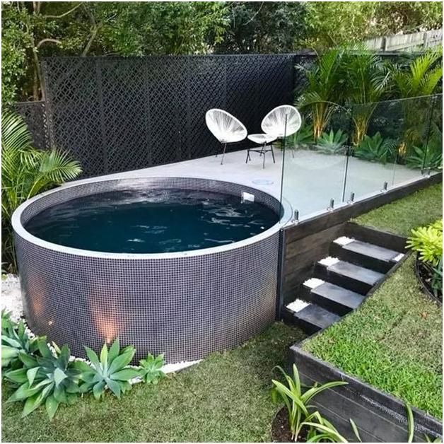 бассейн из кольца жби