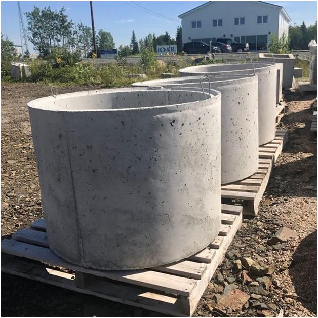 Демонтаж колодязя з бетонних кілець