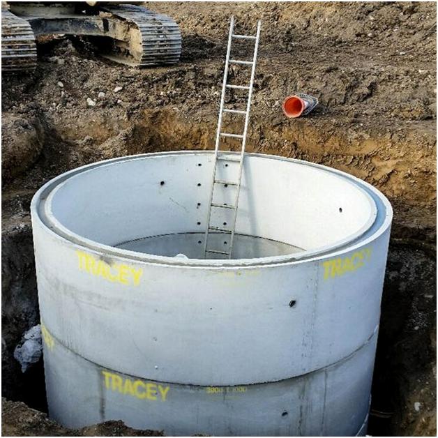 как почистить колодец из бетонных колец