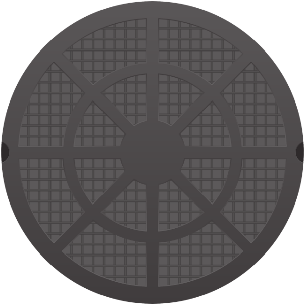 Люк для бетонного кільця