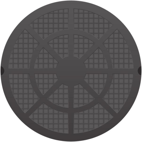 Люк для бетонного кольца