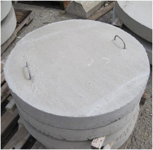 Колодязь для води з бетонних кілець