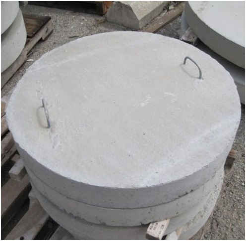 колодец для воды из бетонных колец