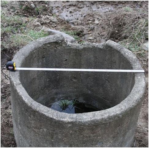 Пристрій бетонних колодязів