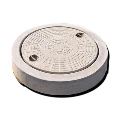 крышка с люком для бетонного кольца