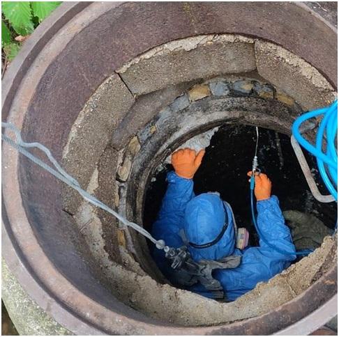 ремонт колодцев из бетонных колец